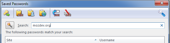 password manager toolbar
